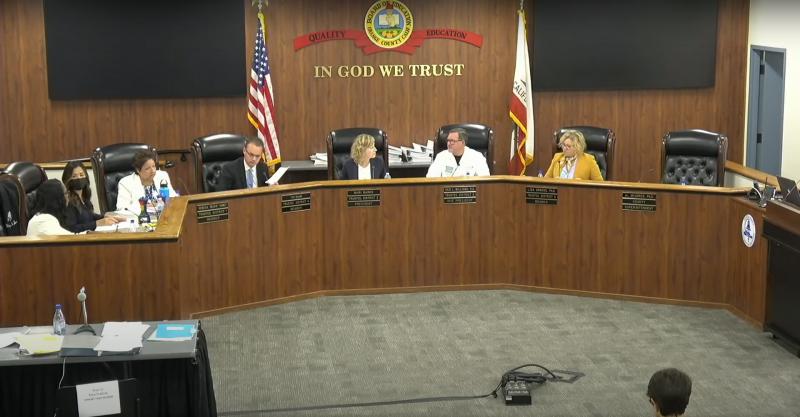 Orange County Board of Education, August 4, 2021